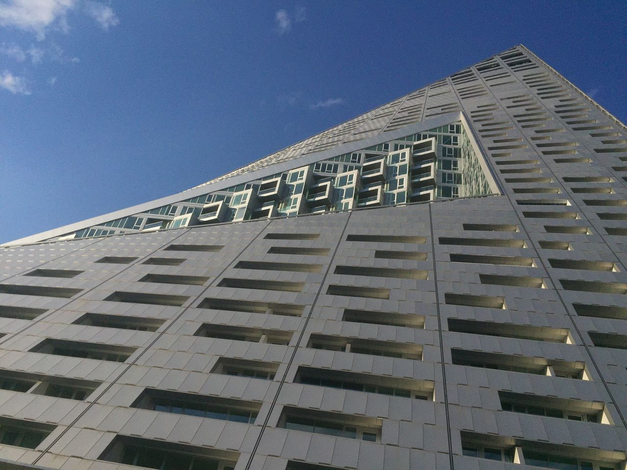 Modern architecture Manhattan New structure westside apartments offices geometric