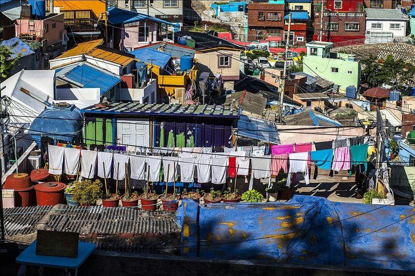 Busan Gamchunmaeul Colorful Busan, Korea