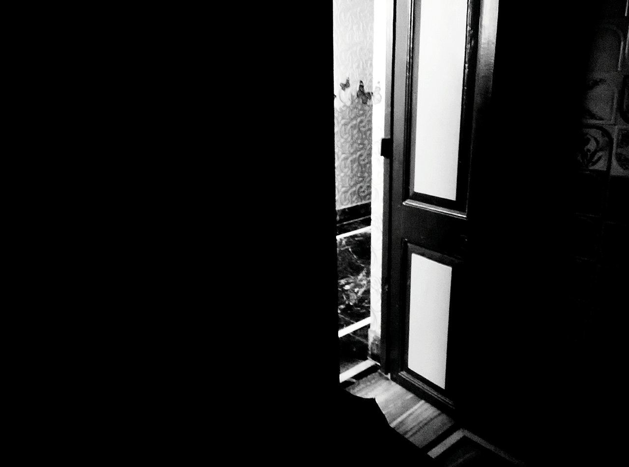 Door Window Doorway No People Indoors  Ajar Architecture Domestic Room Day Sliding Door Monochrome EyeEmNewHere