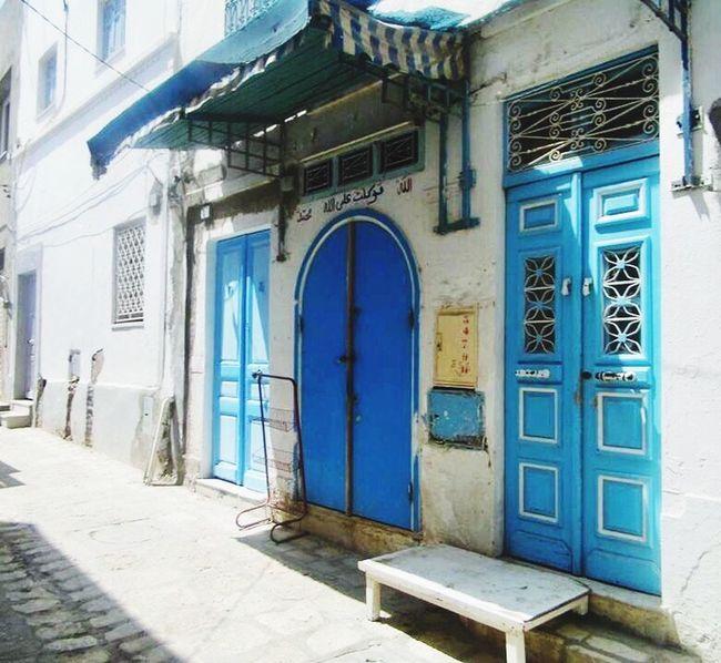 Souk Souks Moorish Architecture Blue Door Connected By Travel