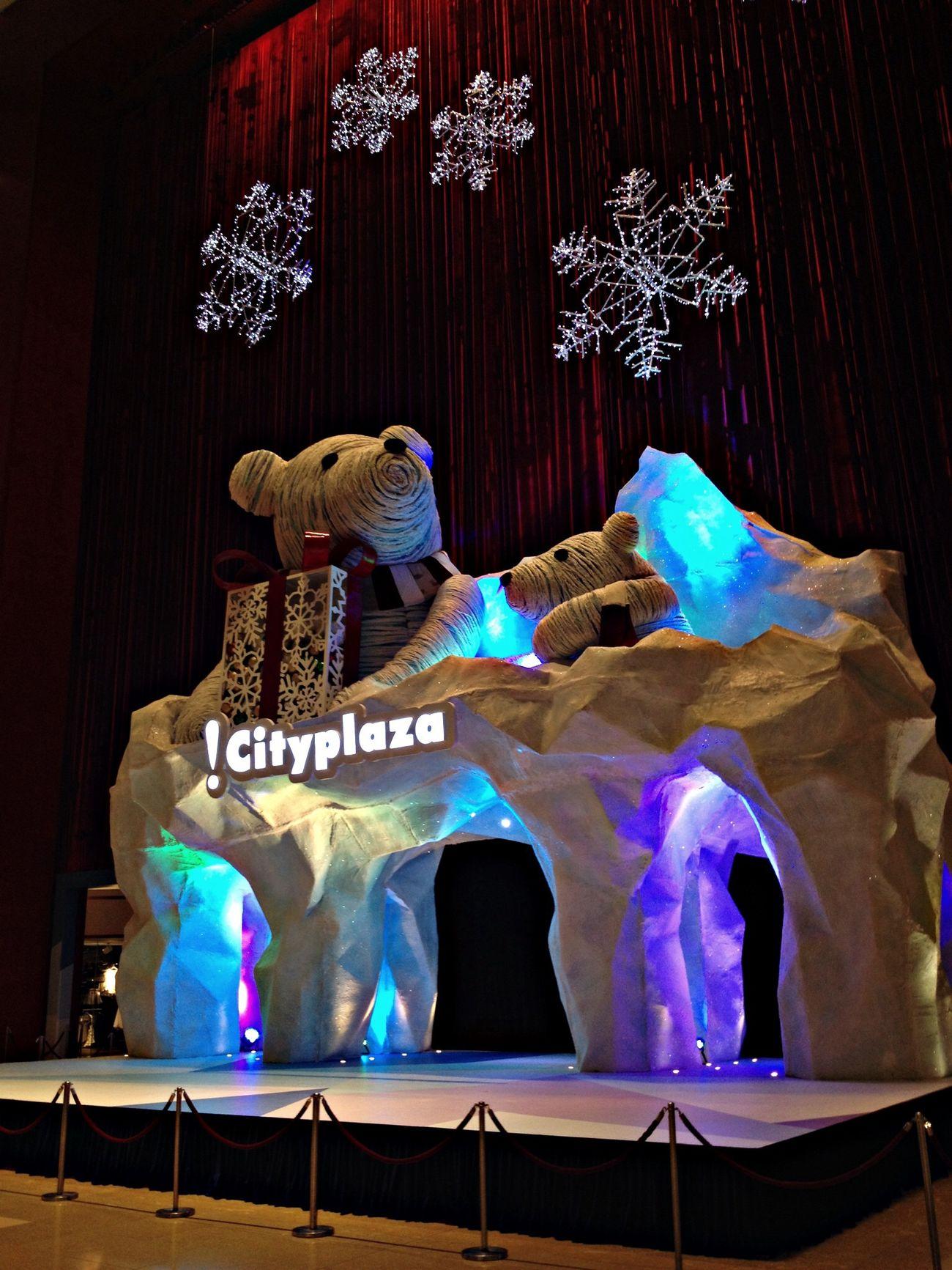 Cityplaza Christmas Bear 2013