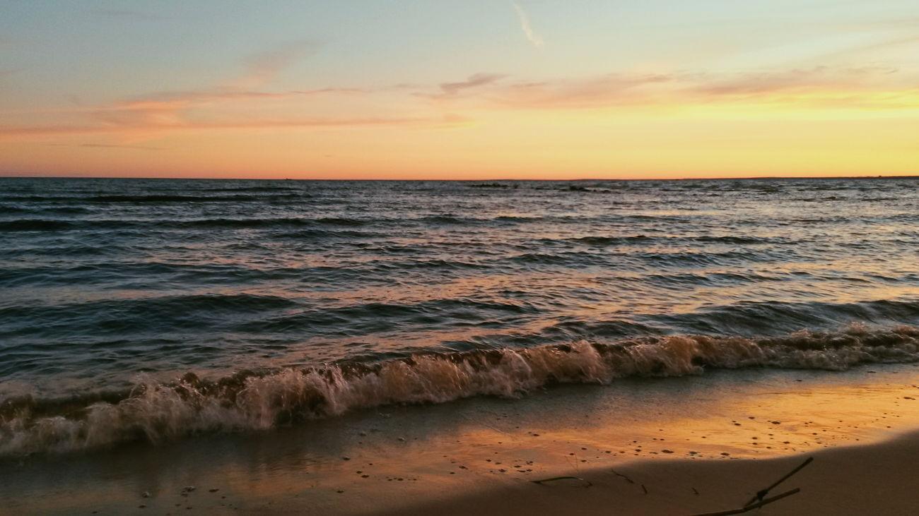 Sunset Summer Beautiful Nature Nature Nature_collection Gulf Of Finland Sestroretsk