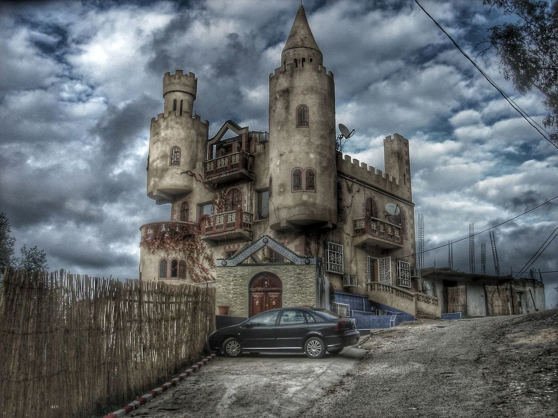 Castle Skikda Algeria Photography Architecture HDR Hdr_Collection Light And Shadow Check This Out Enjoying The Sights