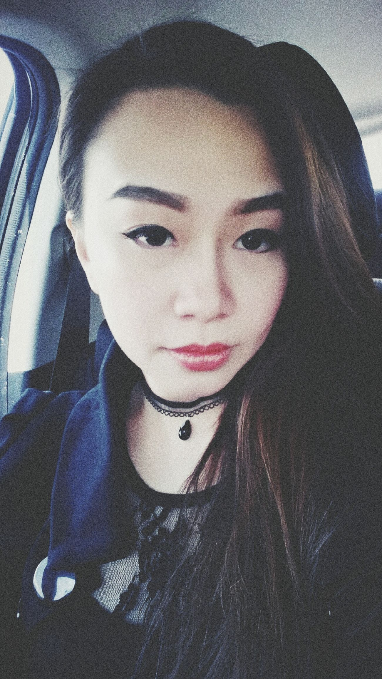 Black My Fav Color Gothic Beauty  Working Girl Officelady Faces Of EyeEm Asian Beauty Sales Life Sexylips