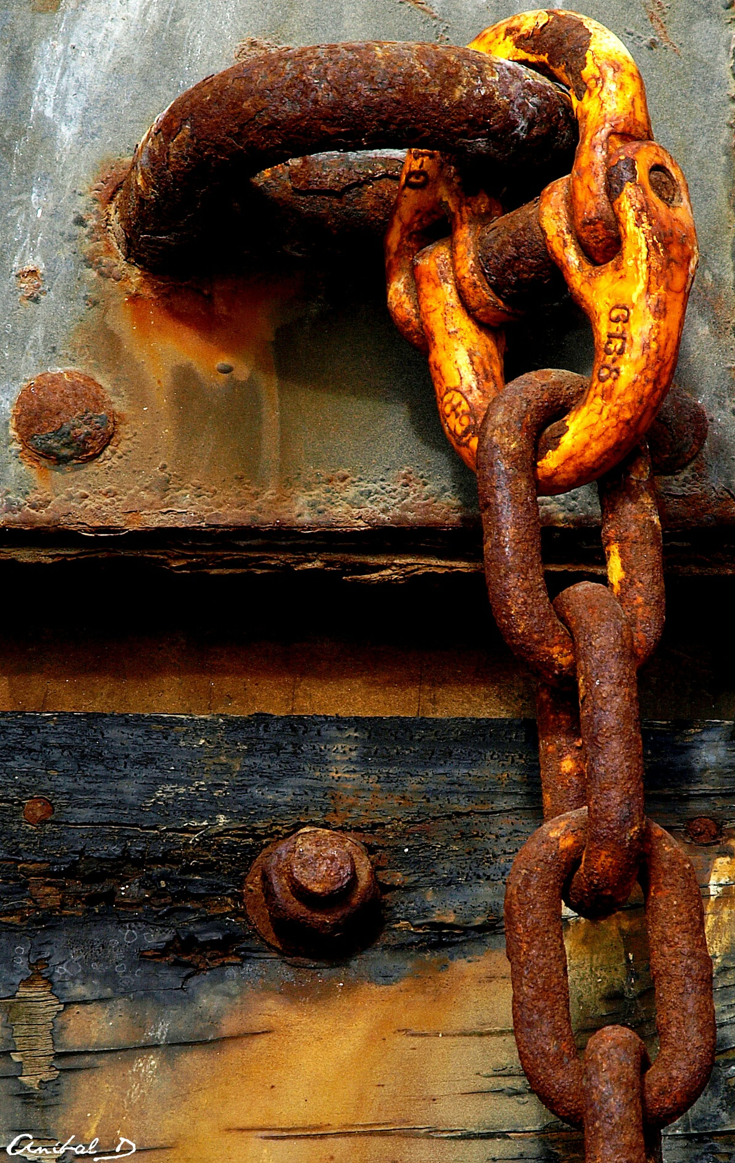 metal, rusty, metallic, weathered, old, close-up, chain, deterioration, strength, run-down, iron - metal, security, safety, door, protection, padlock, connection, full frame, damaged, outdoors