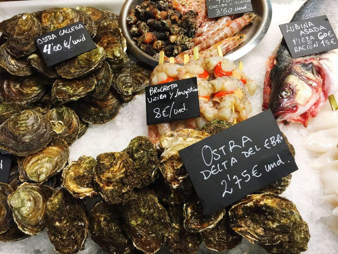 Fresh Produce Fish Seafoods Bilbao