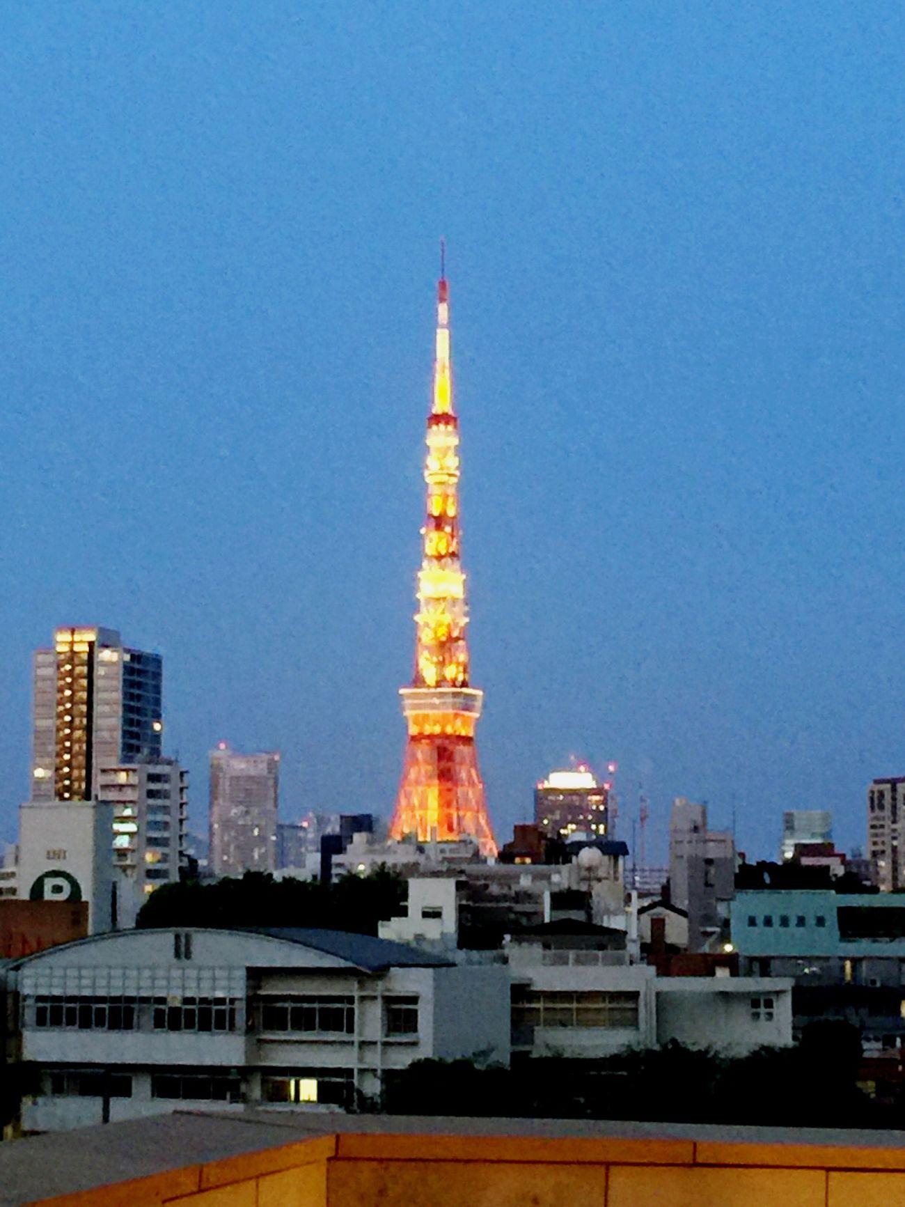 Tower City Sky Clear Sky 六本木ヒルズ 東京タワー