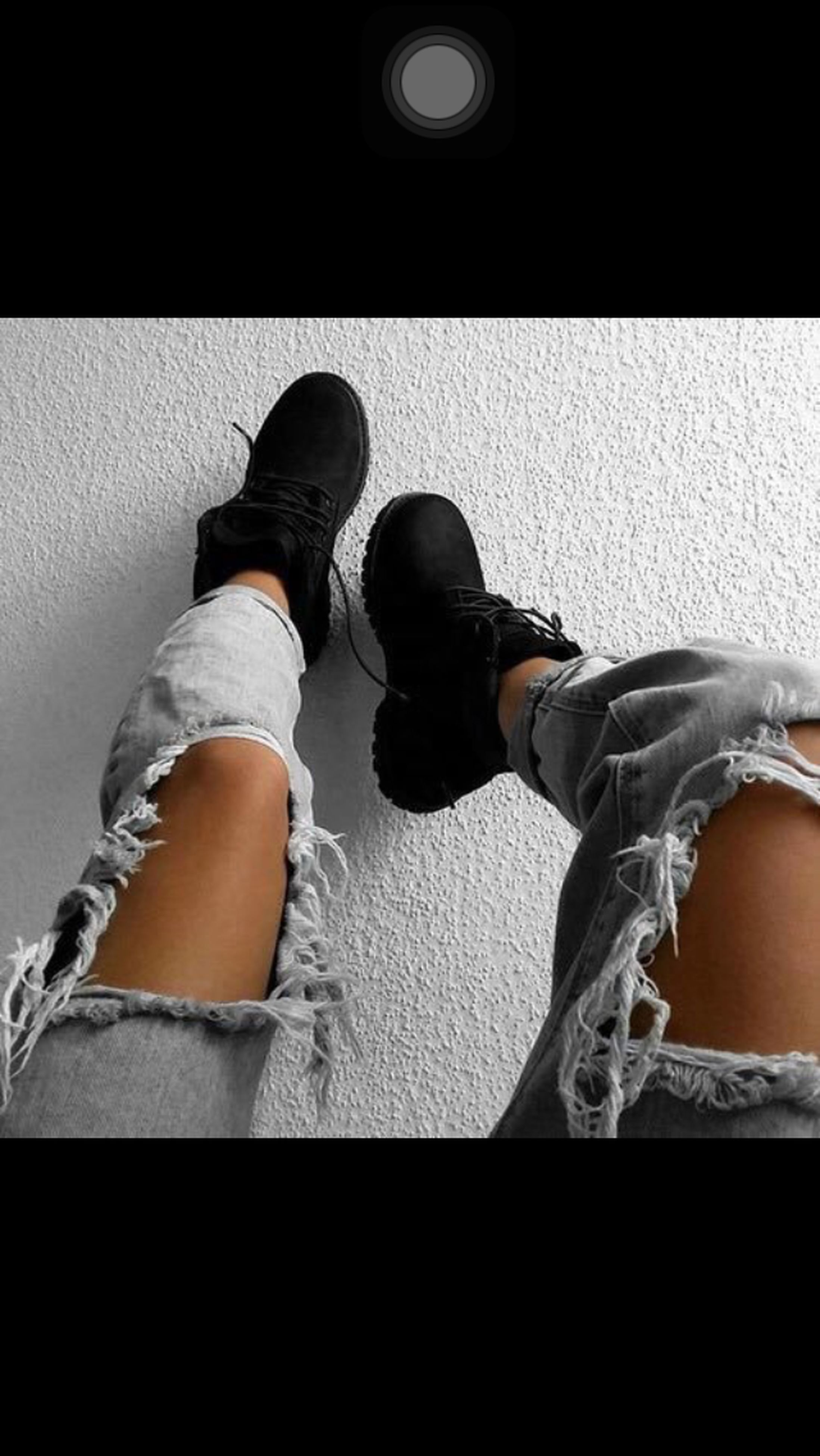 low section, person, shoe, indoors, lifestyles, personal perspective, standing, leisure activity, jeans, high angle view, footwear, human foot, men, sitting, casual clothing, auto post production filter
