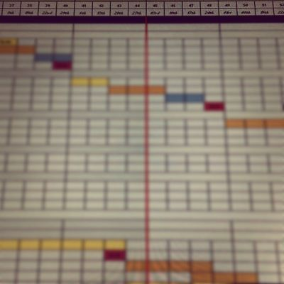 """Microsoft """"Office Tetris"""" for professionals is back on the screen. ?? Microsoft Office365 Excel Gantt"""