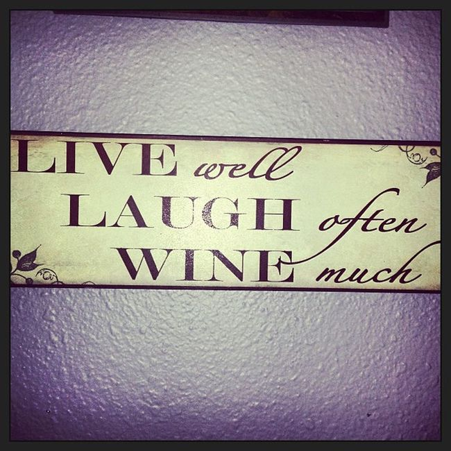 Livewell Live Laugh Laughoften wine alcohol winemuch classy sign humorous humor funny girly knickknacks