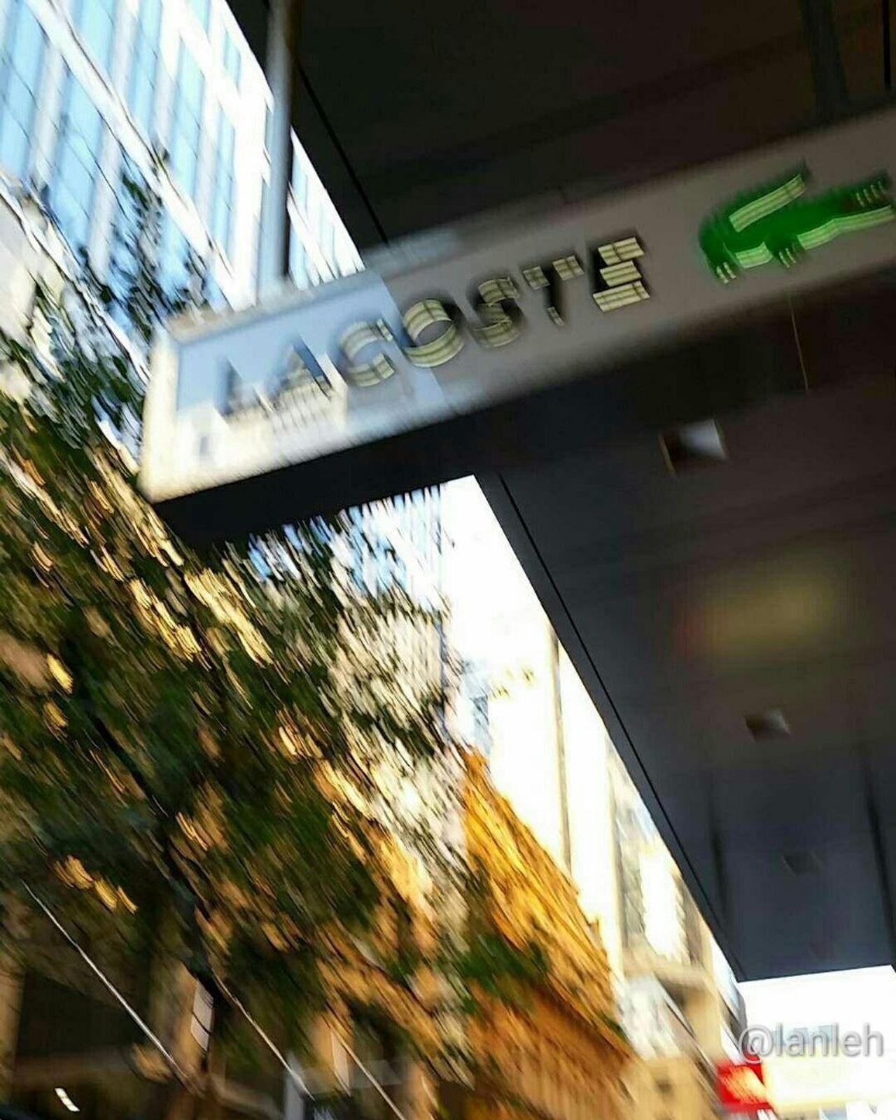 Lacoste Brand Shop Sydneylacoste Sydney Pittstreet First Eyeem Photo