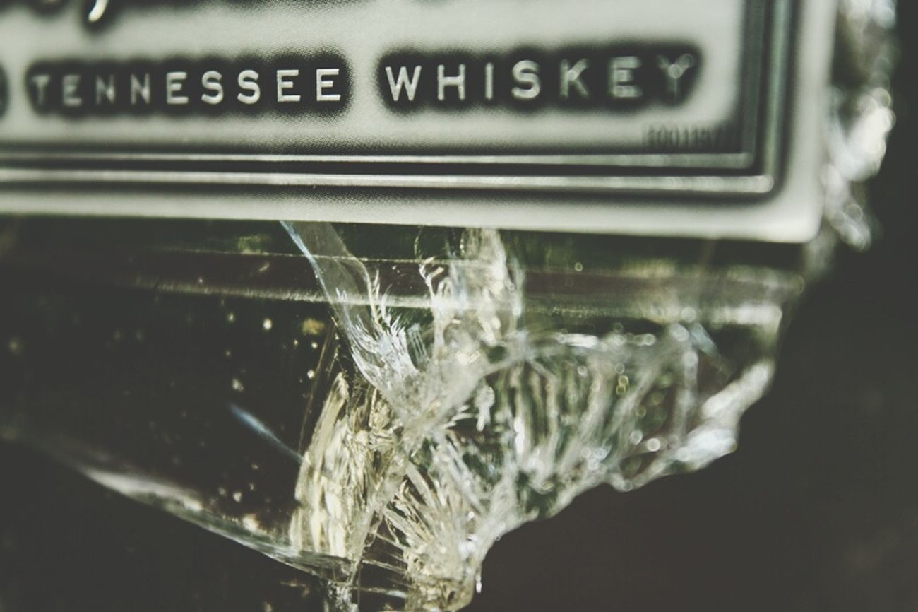 Broken Glass Whiskey Bottle Shot EyeEm Best Shots - Macro / Up Close Tennessee Gentlemanjack