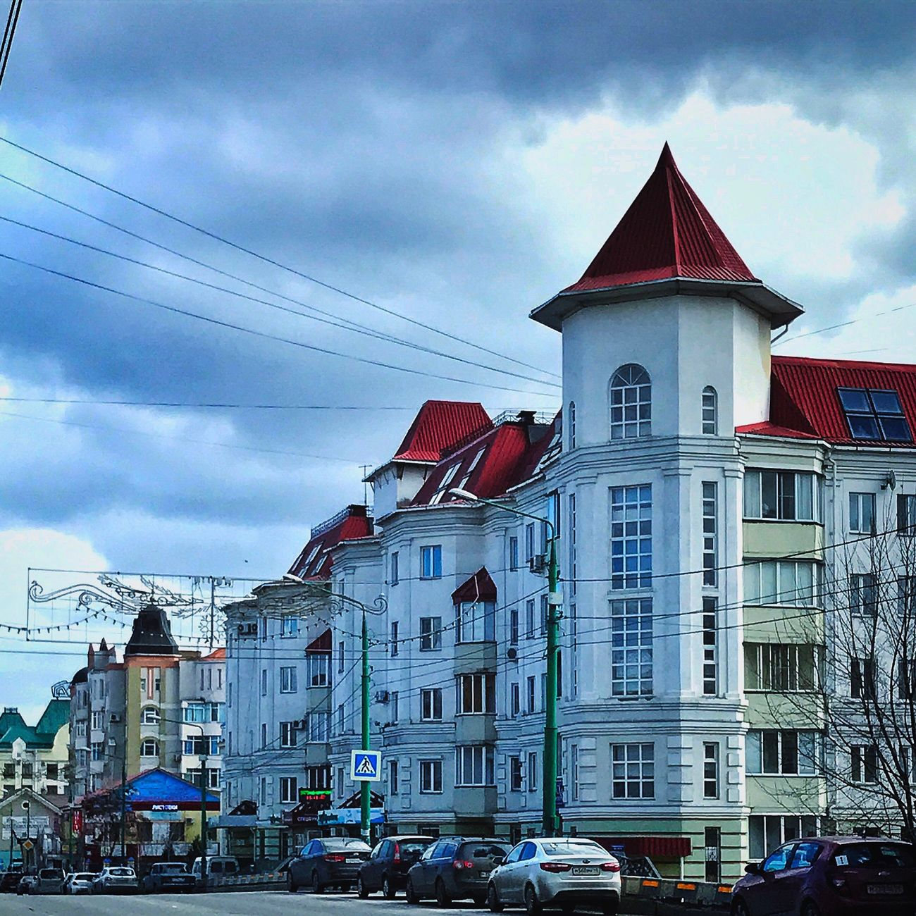 Cloud - Sky Building Exterior Sky Architecture Built Structure Outdoors Day City No People Lipetsk липецк