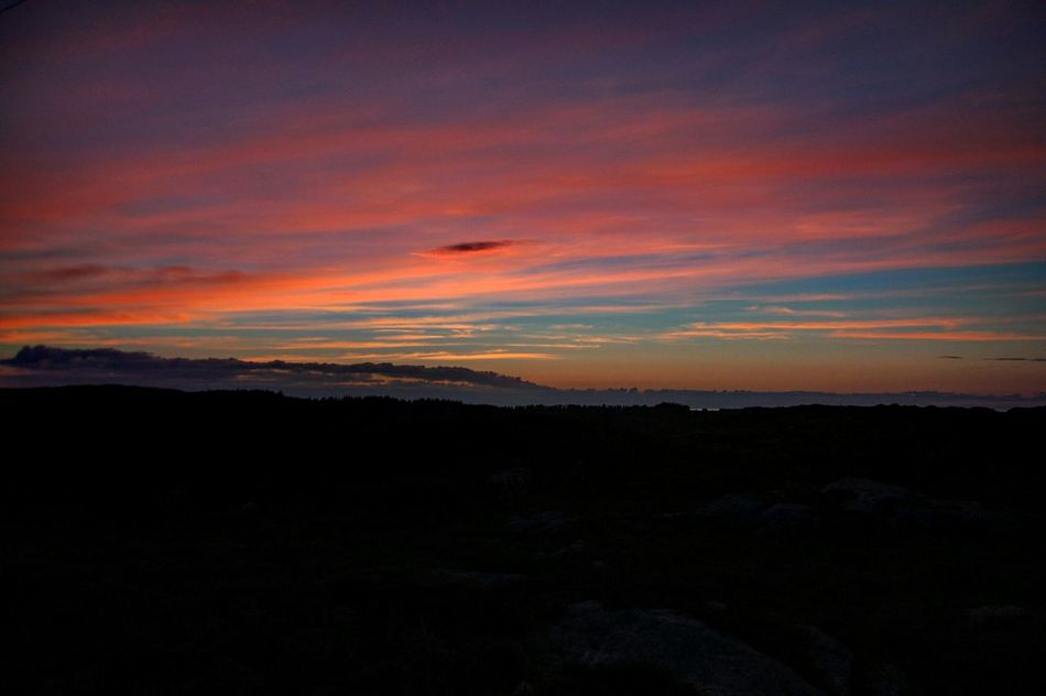 Sunset Beauty In Nature Nature Landscape Outdoors Cloud - Sky No People Sky Solnedgång Perfect Sky Norge Norway Sotra Hordaland Pink Sky Sunset Beauty In Nature Nature Landscape Outdoors Tranquility Scenics Cloud - Sky Mountain No People First Eyeem Photo