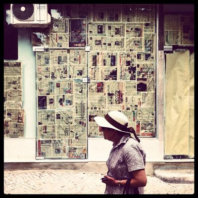 streetphotography at Praça Paiva Couceiro by David Clifford