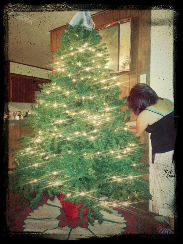 this is the great crhistmas tree....with my wifee...