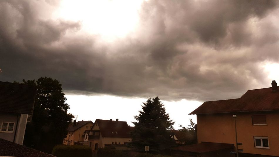 Cloud - Sky Dramatic Sky Thunderstorm No People Tree Sky Outdoors Day Nature Followmee Likes ♡♡♡ Love ♥