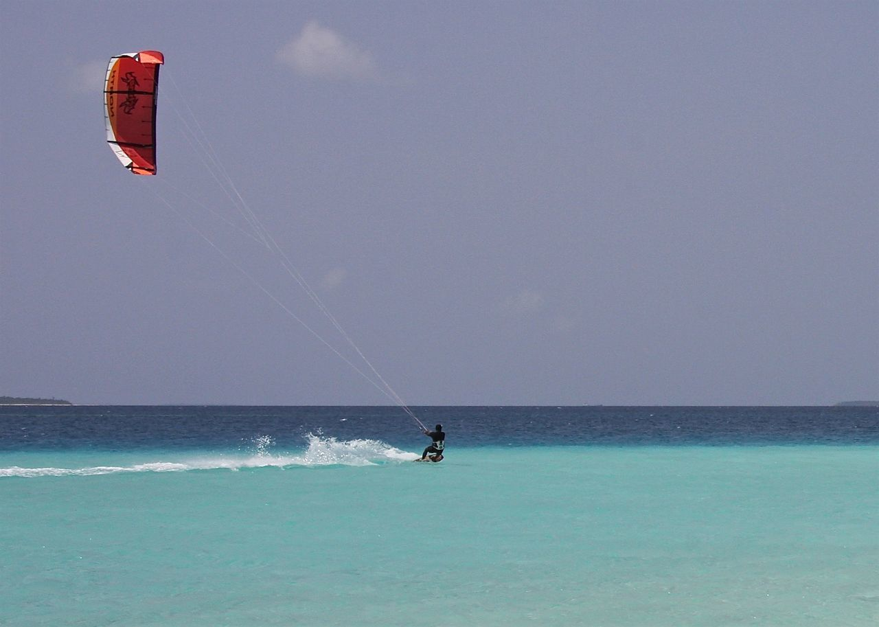 Abstractions In Colors Amazing Beach Beauty In Nature Blue Enjoying Life EyeEm Best Shots Getting Away From It All Horizon Over Water Indian Ocean Kitesurfing Maldives Minmalism On The Beach Red Scenics Sea Seascape Sport Surfing Taking Photos Travel Turquoise Wineandmore Miles Away