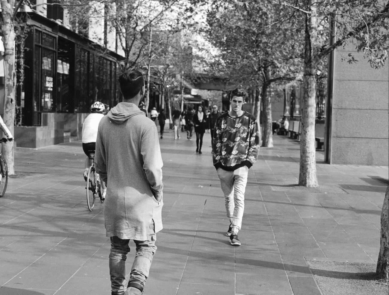 Streetphotography Portrait Random Shots Melbourne Teenager Film Photography