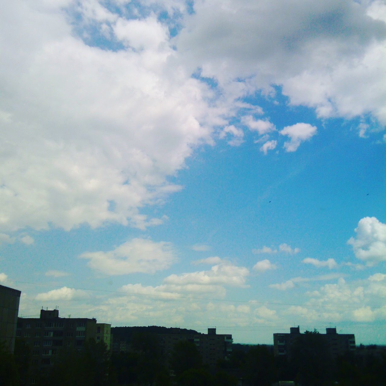 sky, architecture, city, cloud - sky, no people, building exterior, cityscape, outdoors, nature, day