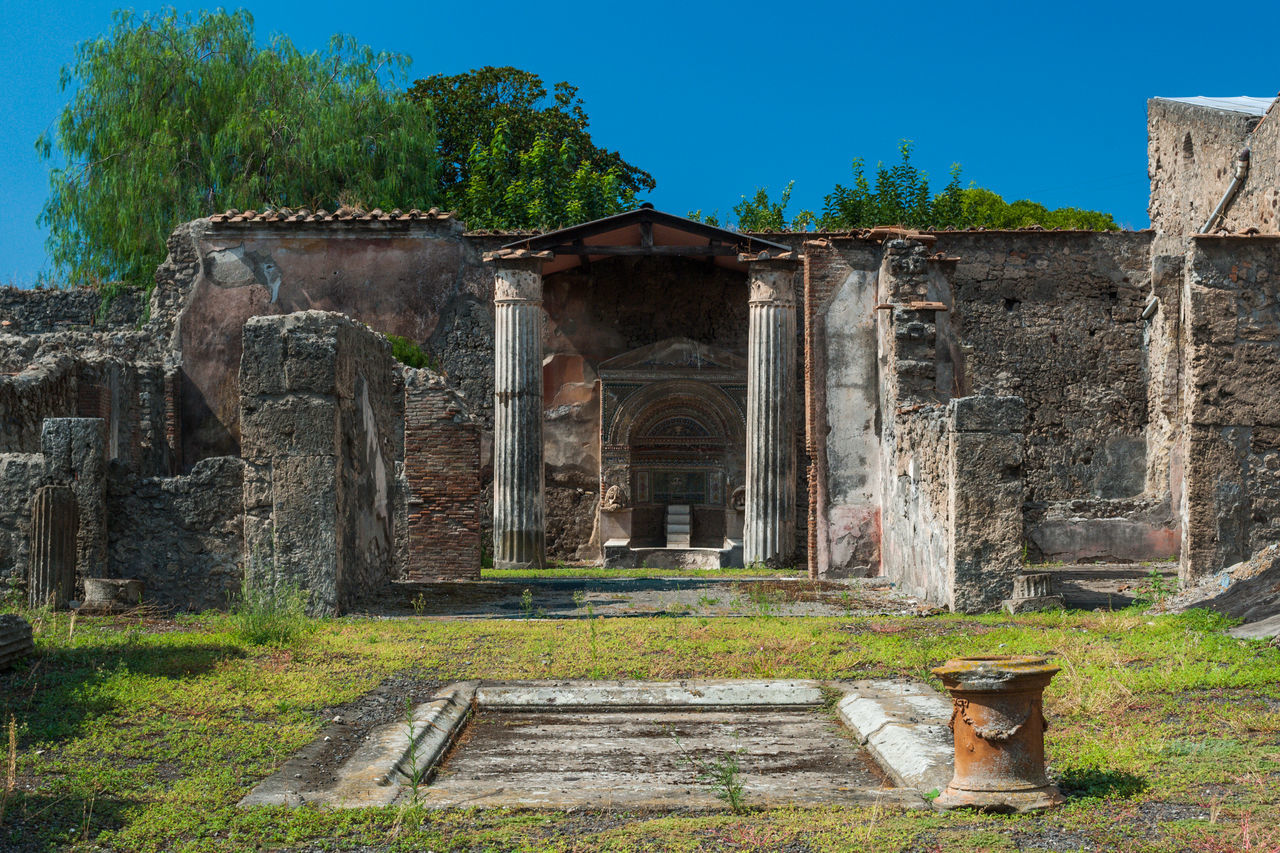 Beautiful stock photos of pompeji,  Archeology,  Architectural Column,  Architecture,  Built Structure