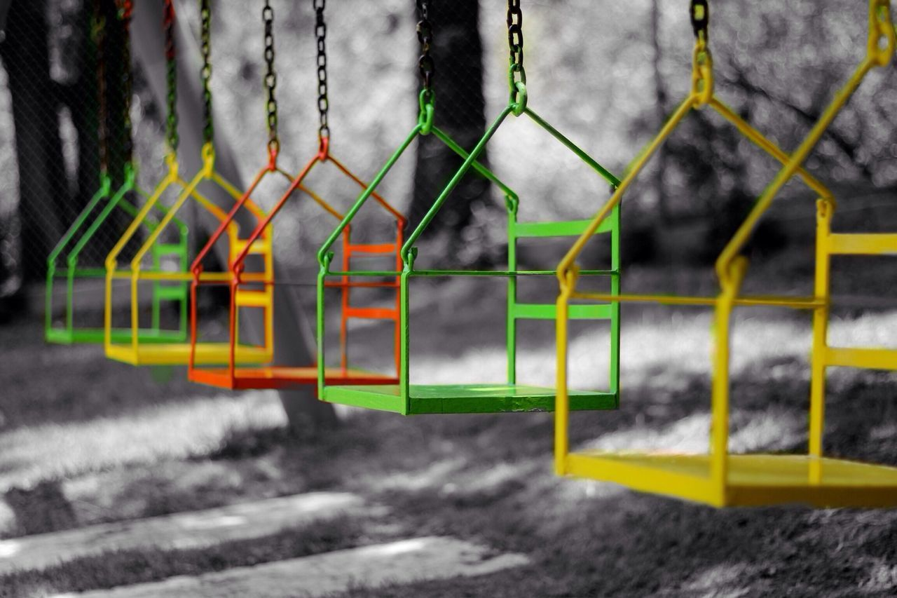 Swing with me. Colorsplash Tadaa Community Sunday Morning Colorexplosion