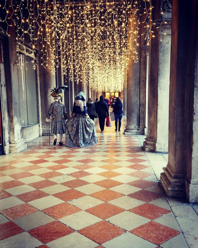 Walk trough the centuries Lifestyles Real People Outdoors Eyeemphotography Capture The Moment Vacations CarnevalVenezia Funtimes Dressing Up Clothes Shininglight