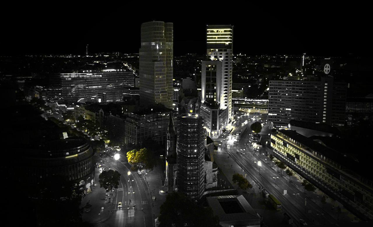 Skyline Skyline Berlin Blackandwhite Schwarzweiß Europacenter Grey Greyscale Panoramic Photography Panoramic View