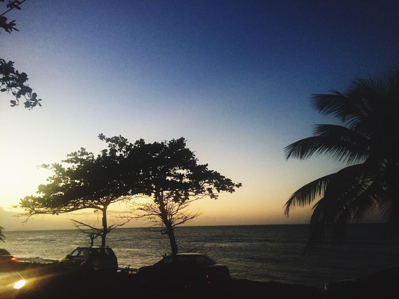 Sunset Beach Puerto Rico Aguada Romantic