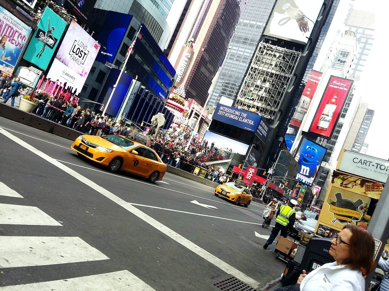 Yellow Taxi Taxi Street Transportation Yellow Car City Road Day Outdoors No People Newyorkcity City