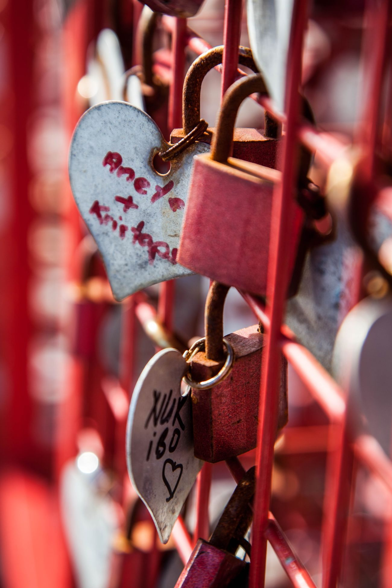 Lisbonne Love Protection Lock Love Lock Luck Outdoors No People Romance Metal