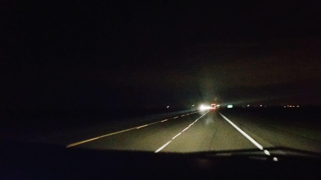 transportation, road, night, illuminated, no people, the way forward, speed, outdoors, nature, sky