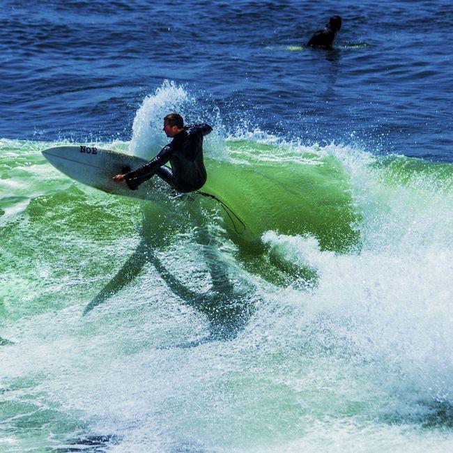 My photography. Surfer in Santa Cruz. DSLR EyeEm Best Shots Surfing Eye4photography  EyeEmBestEdits