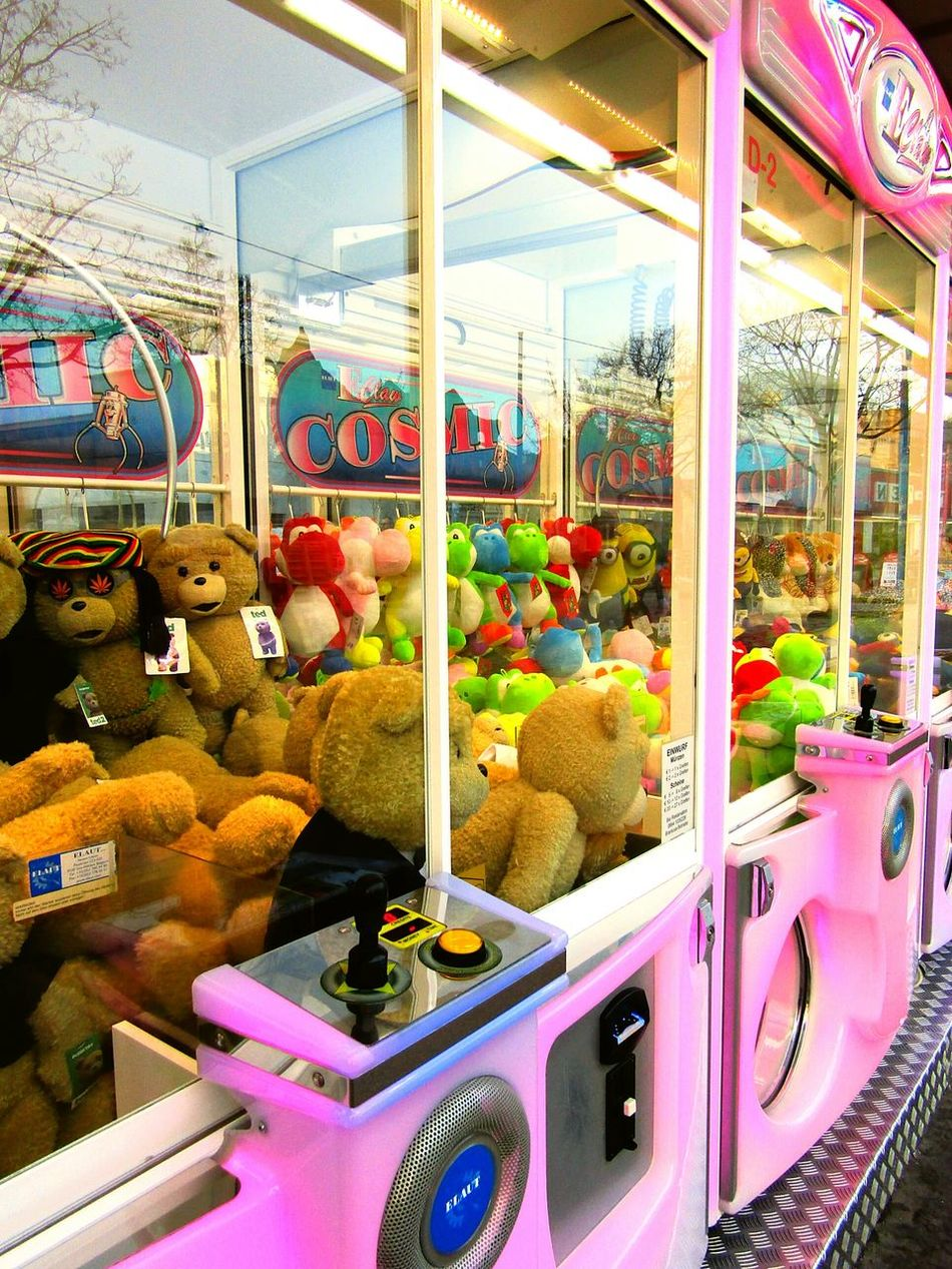 Amusement Park Multi Colored Arts Culture And Entertainment Letsplay Plushtoy Colour Fine Art Photography Todayphotography Eyeemphotography From My Point Of View Game Colorful Themepark Teddy Bear Toys Close-up Stuffed Animals Moment