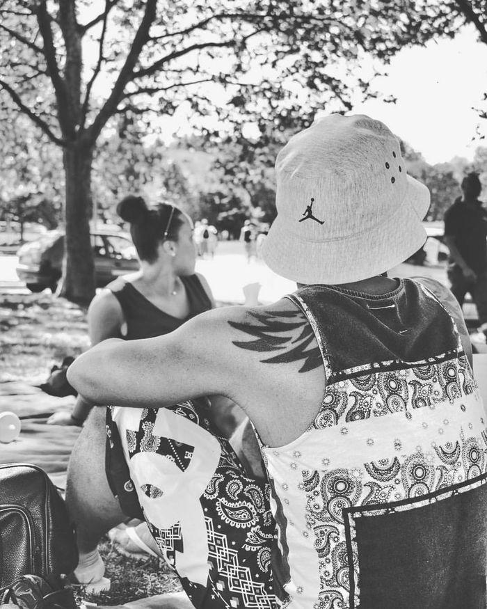 Jordan #23 #Photo #BlackandWhite #Tatoo #Sun #Friends #Tag #Quai54