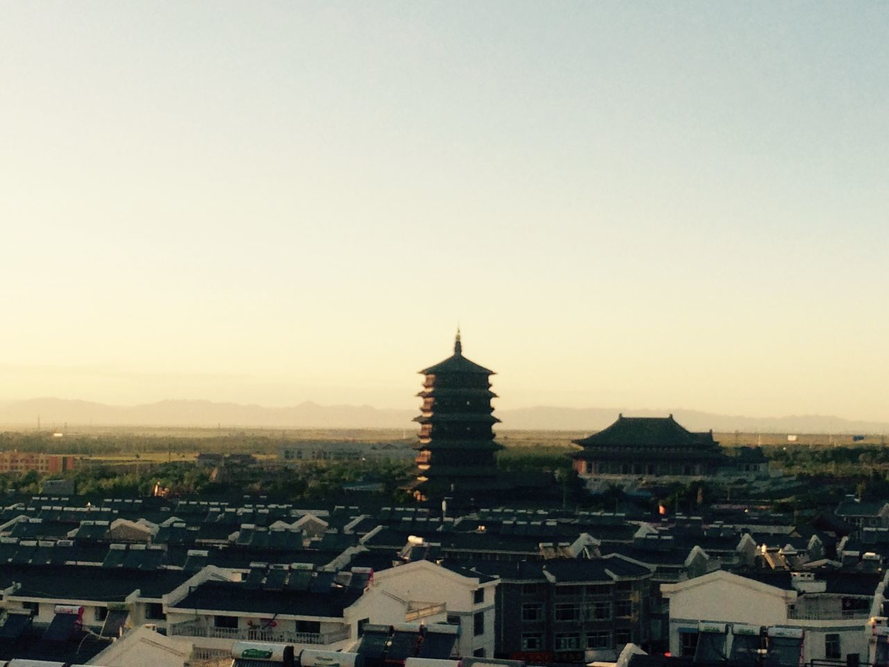 Ying State ,Sanxi ,China The Wooden Tower
