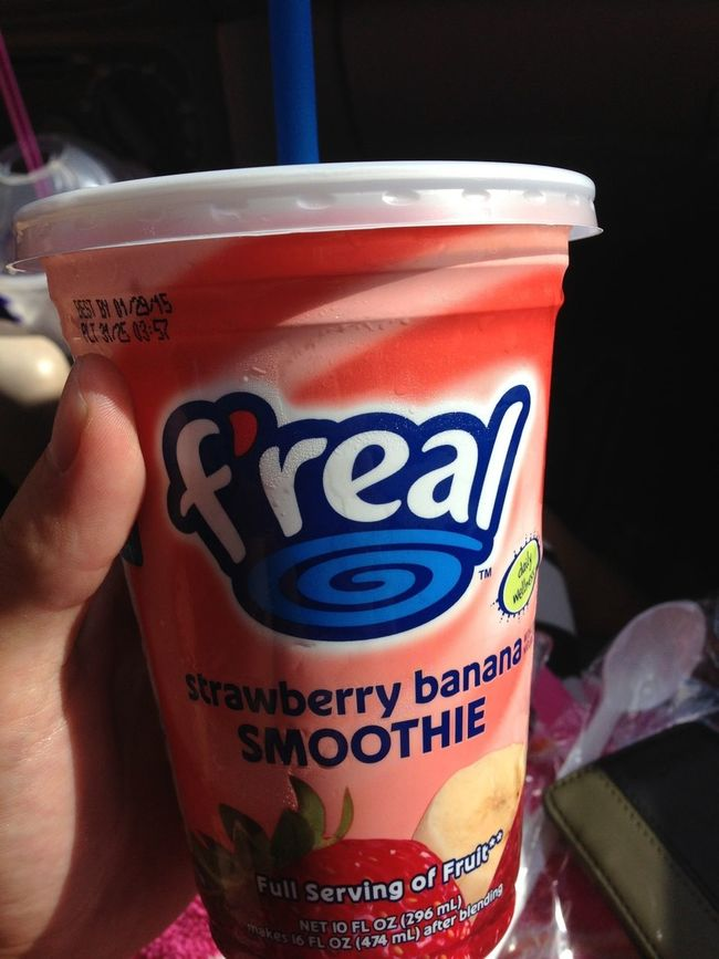 First F'real