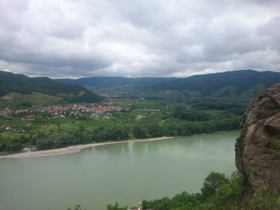 Beautiful stock photos of river, Cloud, Day, High Angle View, Hill