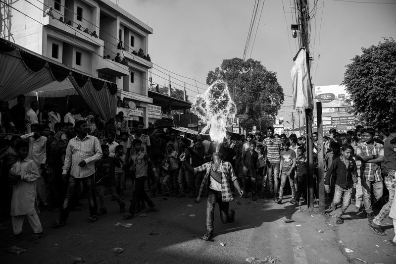 Scenes from a procession of Muharram in Lucknow, India #Mourning of Muharram is a set of #rituals associated with #Shia #Islam. The event marks the anniversary of the #Battle of Karbala when Imam Hussein was killed by forces of Yazid I. Festival Islam Moharram Muharram Relaxing Streetphotography The Photojournalist - 2016 EyeEm Awards The Street Photographer - 2016 EyeEm Awards Original Experiences Dramatic Angles Monochrome Photography Welcome To Black