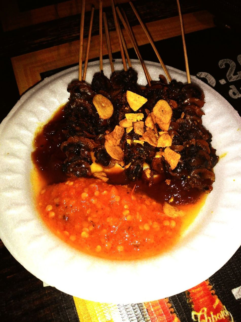 Sate Kerang Wonderful Indonesia Indonesianculinary Indonesian Traditional Yummy Food Healthyfood EyeEm Best Shots Hanging Out Eastcoast Pakuwon City Surabaya City