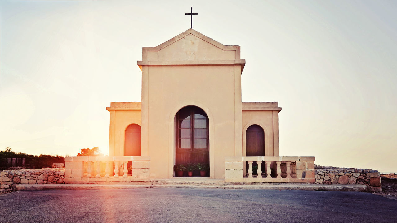 Ancient Building Catalytic Chruch Cristianity Cross Europe Faith Landscape Malta Old Old Buildings Pray Summer Sunset Tourism Travel Vacation