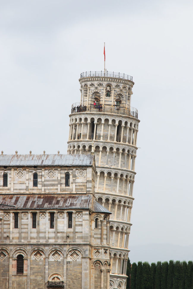 The Leaning Tower of Pisa. Tuscany, Italy Architectural Column Architecture Building Exterior Built Structure Capital Cities  City Culture Day Exterior History Low Angle View No People Outdoors Pisa Sky The Past Tourism Travel Destinations