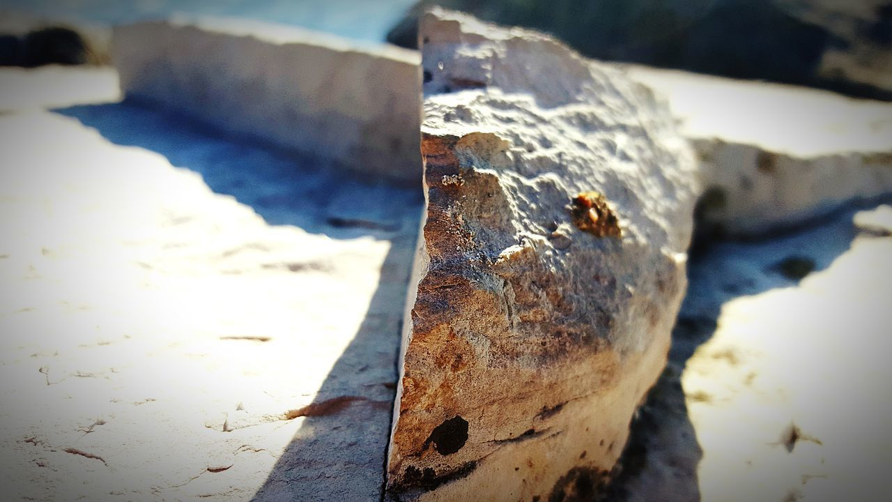close-up, no people, focus on foreground, wood - material, day, outdoors, textured, axe, nature