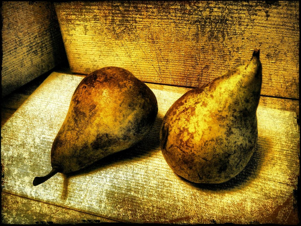 A nice pair. Fine Art Photography Pears Art, Drawing, Creativity Robin Fifield - Artworks Filtered Image Filtronomy Deep Filtered Image Deep Filtering Fine Filtering