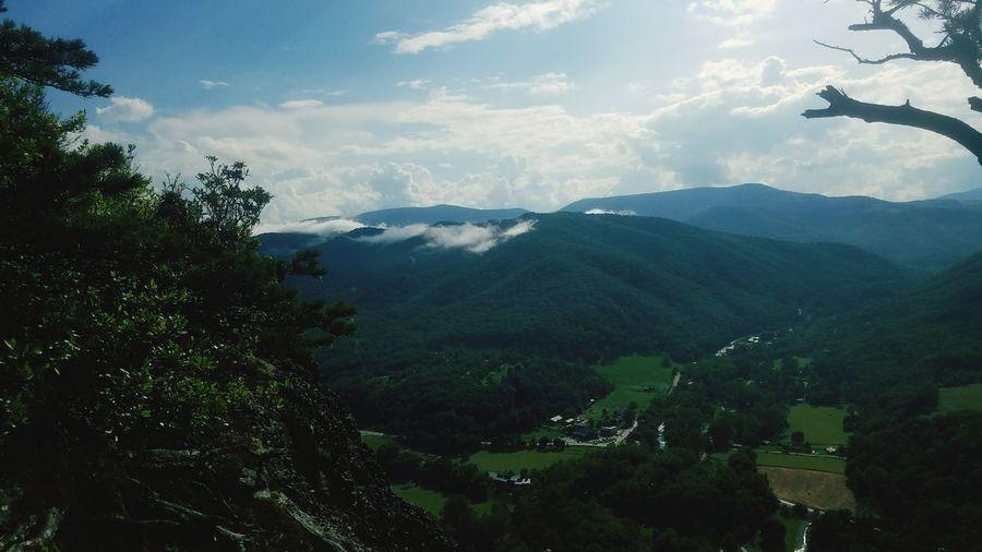 Mountain Mountain Range Cloud - Sky Nature Beauty In Nature Scenics Sky