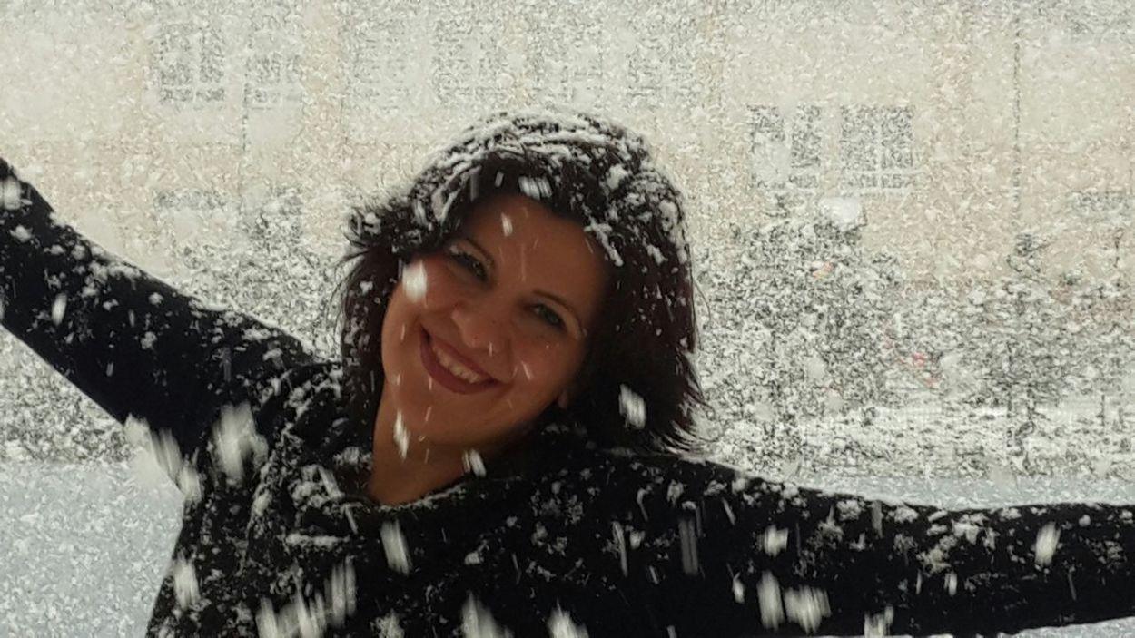 A snowy day in Turkey... Karlı Güne Merhaba :))