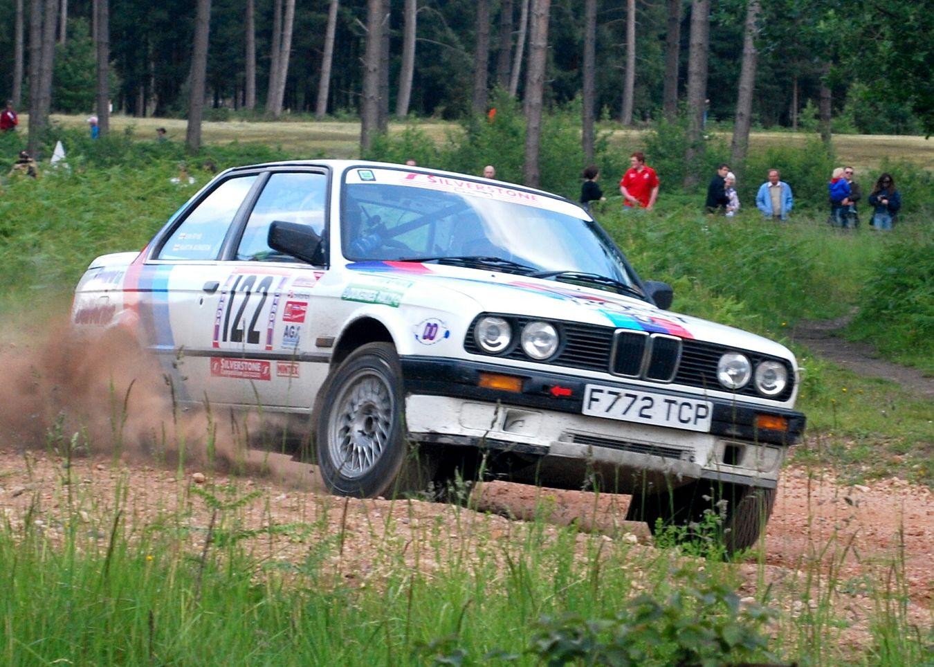Cars. BMW. Dukeries Rally.