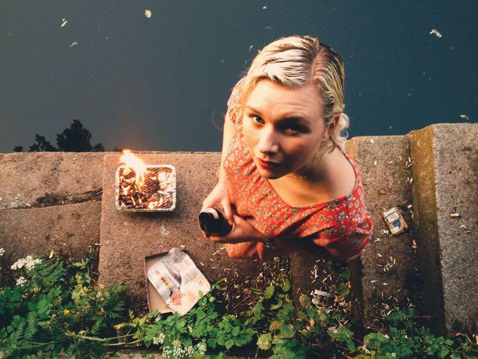Beautiful stock photos of berlin, Beautiful Woman, Berlin, Blonde Hair, Close-Up
