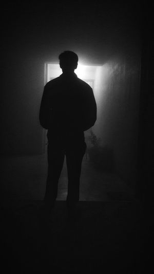 Black And White Friday if heaven is calling you than you should step ahead or not? Vision One Person One Man Only Dark Blacknwhite Contrast Smog In The Sky Delhi Itsme