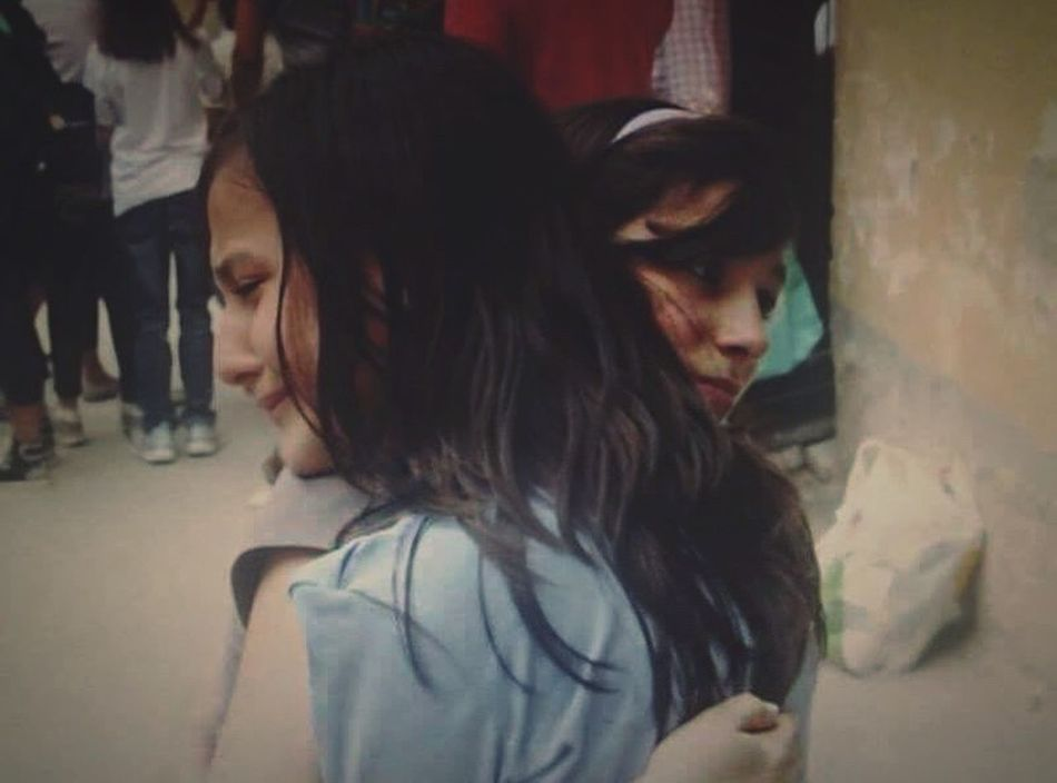 One of the most intense hugs of my life 🎈 4YearsAgo Solovely